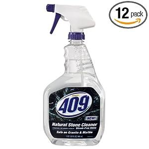 Formula 409 Natural Stone Cleaner, 32-Fluid Ounce Bottles (Pack of 12)