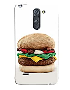 Omnam Burger Made Of Clothes Printed Designer Back Cover Case For LG G3 Stylus