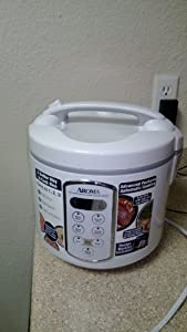 Aroma ARC-2000A Professional 20-Cup (Cooked) Rice Cooker, Food Steamer and Slow Cooker by Aroma