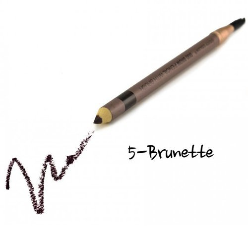 (3 Pack) CITY COLOR Duo Brow Pencil With Brush - Brunette