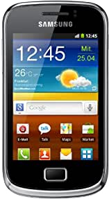 Samsung Galaxy mini 2 S6500 Smartphone (8,31 cm (3,27 Zoll) TFT-Touchscreen, 3 Megapixel Kamera, Android 2.3) yellow