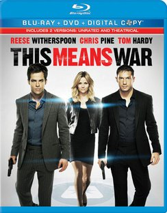 Cover art for  This Means War (Blu-ray + DVD + Digital Copy)