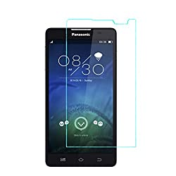 iKraft Premium 9H 0.3mm Tempered Glass with Curved Edges for Panasonic P55
