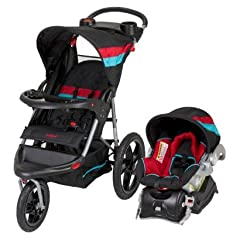 Baby Trend Jogger Travel System Jordan include Car Seat Base, Stroller, Car Seat by BaTrend