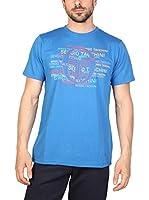 Sergio Tacchini Camiseta Manga Corta (Azul)
