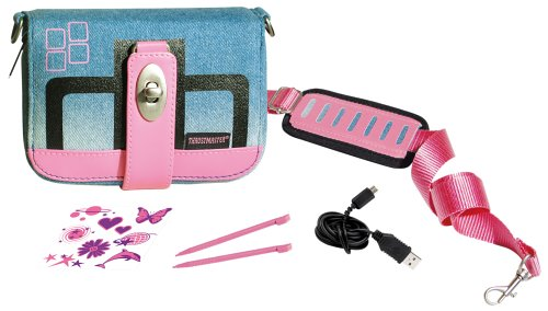 Thrustmaster pink DS Lite T-Pack 2 for Girls (Nintendo DS)