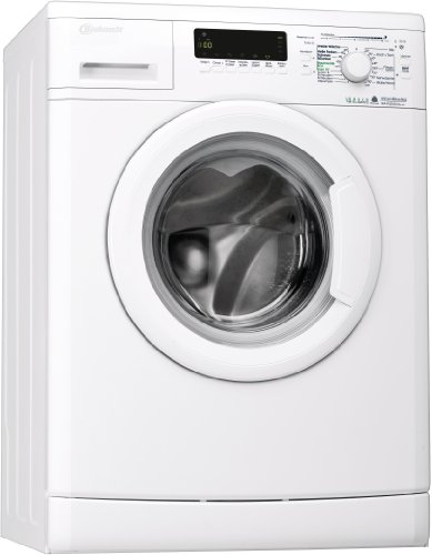 Bauknecht WA PLUS 634 Waschmaschine Frontlader / 2+2 Jahre Herstellergarantie / A+++ / 1400 UpM / 6 kg / Weiß / Startzeitvorwahl / 15-Minuten-Programm / Farbprogramme