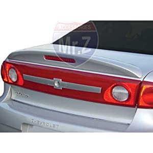 2003-2005 Chevrolet Cavalier Custom Spoiler Factory Style With LED (Unpainted)