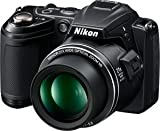 Nikon COOLPIX L120 14.1 MP Digital Camera with 21x NIKKOR Wide-Angle Optica ....