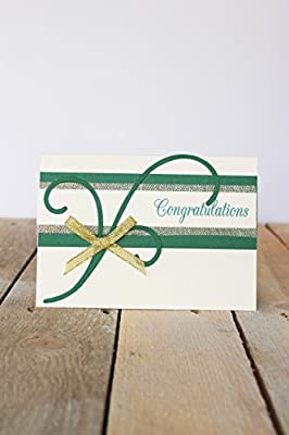 Elegance Congratulations Card - Fair Trade & Handmade