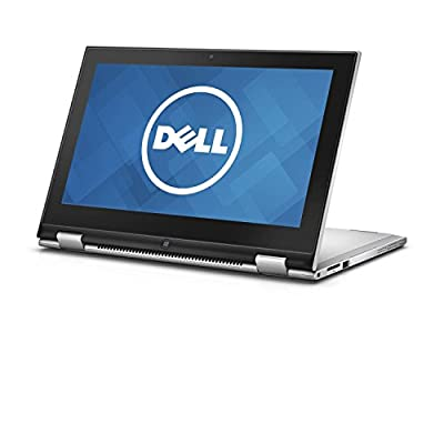 "2016 Newest Dell Inspiron 11.6"" Touchscreen 2-in-1 Laptop PC, Intel Pentium Dual Core Processor, 4GB RAM, 500GB HDD, HD Truelife LED-Backlit, Webcam, WIFI, Bluetooth, Windows 10"
