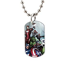 Avengers Assemble Fashion Image Custom Unique Personalized Dog Tag Necklaces, dogtag size About 1.3X 2.2 inches Ideal Gift