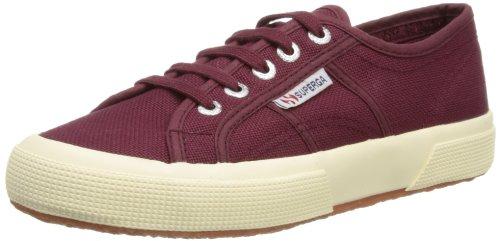 Superga 2750-Cotu Classic Sneaker, Unisex Adulto, rosso (dark boredeaux), 42