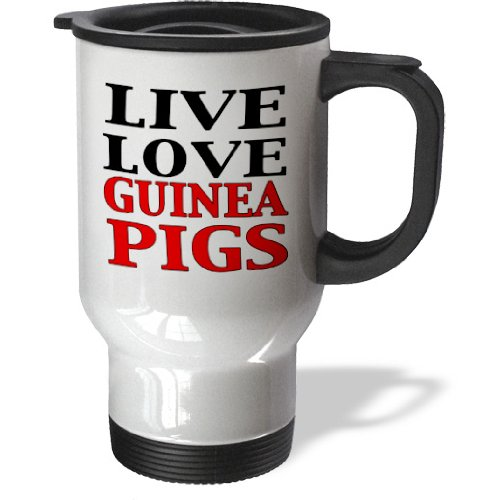 Tm_171995_1 Evadane - Funny Quotes - Live Love Guinea Pigs. Red. - Travel Mug - 14Oz Stainless Steel Travel Mug front-392138