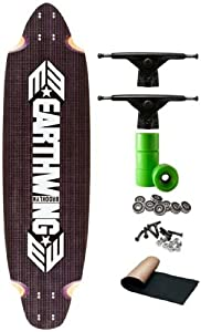 Earthwing Carbon Belly Carver 2012 4-Ply Complete Longboard Skateboard Deck Fully Assembled