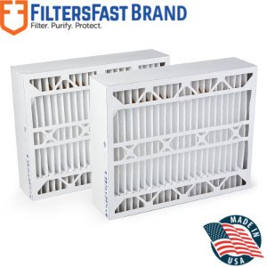 Aprilaire SpaceGard 2400 Air Filter -MERV 13 2PACK Compatible by Filters Fast - Actual Size 15 3/8
