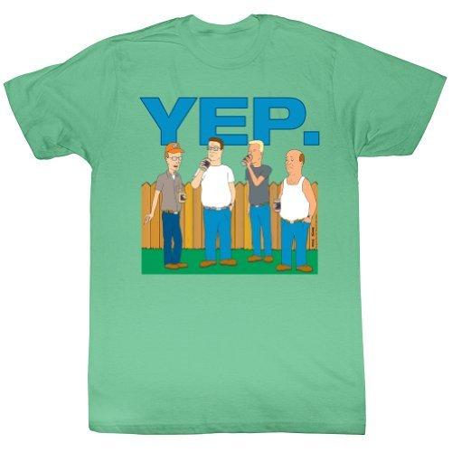 King Of The Hill Yep. Adult T-Shirt Tee