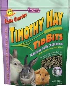 Falfa Cravins Timothy Hay Tidbits 2.5Lb 6Pc
