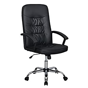 High Back Executive Office Chair Task Ergonomic Chair Computer Desk