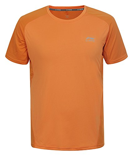 li-ning-herren-t-shirt-seth-dark-orange-m-581441848a