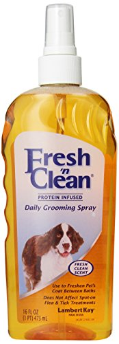 Fresh'n Clean Daily Pet Grooming Spray, 16-Ounce