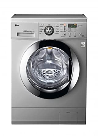 LG SILVER 8KG 1200 SPIN WASHING MACHINE WITH SMART DIOGNOSIS