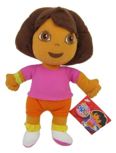 "Dora the Explorer Plush Toy - 8"" Dora Plush - 1"
