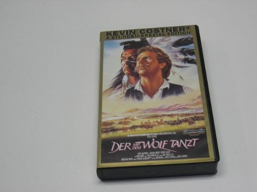 Der mit dem Wolf tanzt - Langfassung [VHS]
