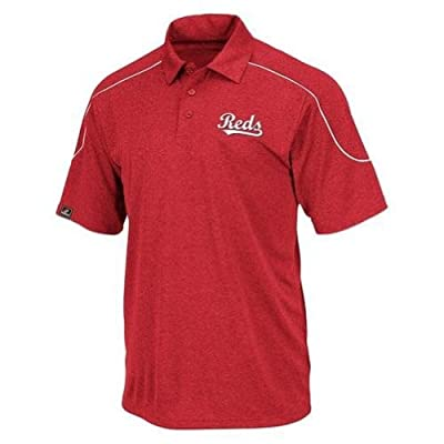 Cincinnati Reds MLB The Rundown Synthetic Polo, Big Sizes