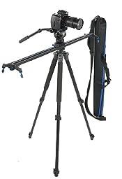 fancierstudio Camera Track Slider Camera Silder Video Slider 40\