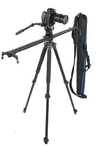 JRFOTO Camera Track Slider Camera Silder Video Slider 40