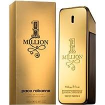 Big Sale Paco Rabanne 1 Million Eau de Toilette Spray for Men, 3.4 Fluid Ounce