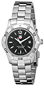 "TAG Heuer Women's WAF1410.BA0823 ""Aquaracer"" Stainless Steel Sport Watch"
