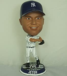 MLB New York Yankees Forever BigHead Bobble Derek Jeter Toy Figure by Forever Collectibles