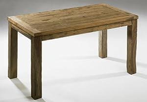 Tisch massiv rustikal esstisch esszimmer antikes teakholz - Antikes esszimmer ...