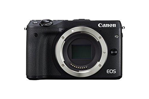 Canon EOS M3 Fotocamera Mirrorless Digitale 24.2 Megapixel, Nero