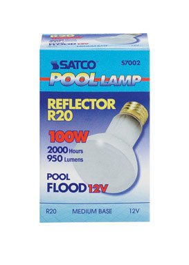 Satco Products S7002 12V 100R20 Fluorescent Pool Lamp