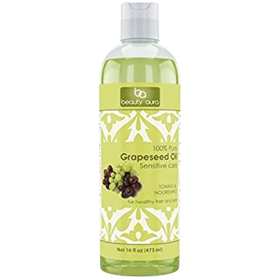 Beauty Aura 100% Pure Grapeseed Oil