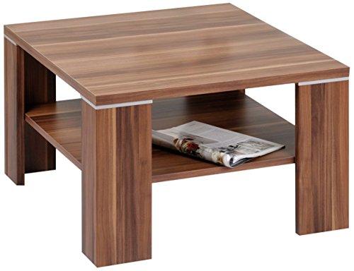 Alfa-Tische-M2080-Beistelltisch-Santos-70-x-70-cm-Dekor-mit-Ablageboden-Walnu