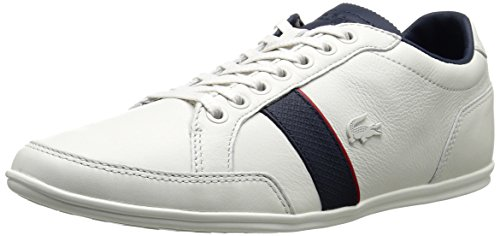 Lacoste Men's Alisos 116 1 Fashion Sneaker, Off White, 11.5 M US