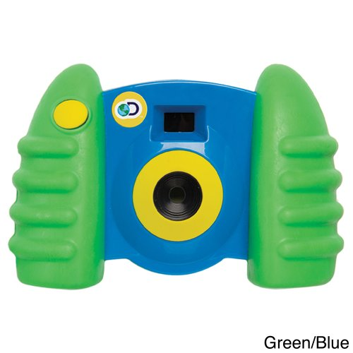 Discovery Kids Digital Blue & Green Camera With Video With Full Color Lcd Display And 16 Mb Of Internal Storage Memory front-511384