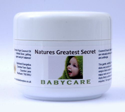 Natures Greatest Secret - Babycare - Antibacterial, Antifungal Colloidal Silver and Coconut Oil Formula -100ml