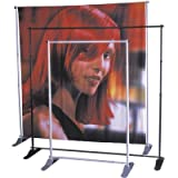 12 Conversion Kit for Grand Format Graphics For Use With: Banner Stand for Large Format Graphics, Color: Black