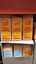 Badia Yellow Food Coloring 22 Oz. (6 Pack)