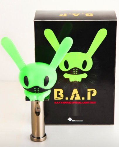 B.A.P Matoki Official Lightstick Bap Light Stick (One Week Shipping To Us And Uk !!!!)+ 2Pc 3D Wristbands And Lomo Card Baby Fans Concert Support front-134006