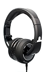 The Sessions Professional Closed-Back Studio Headphones by CAD Audio - Black