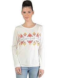 Bonhomie Women Sweatshirts [BONSW14_Beige_Medium]