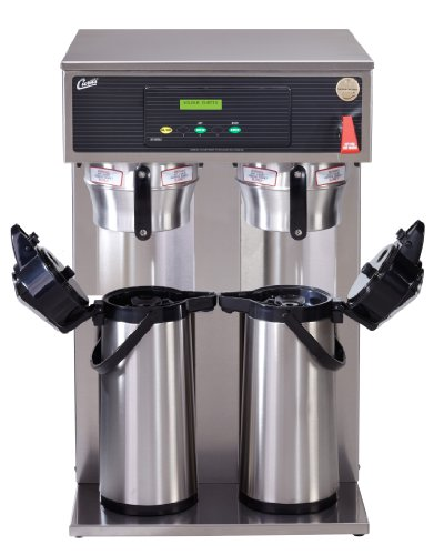 Wilbur Curtis G3 Airpot Brewer 2.2L To 2.5L Twin/Tall Airpot/Gravity Coffee Brewer Dual Voltage, Gourmet Brew Basket - Commercial Airpot Coffee Brewer  - D1000GH62A000 (Each)