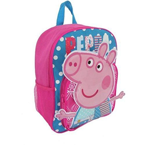 Xidaje Cute Kids School Bag Peppa Pig Cartoon Animal Backpack front-740016