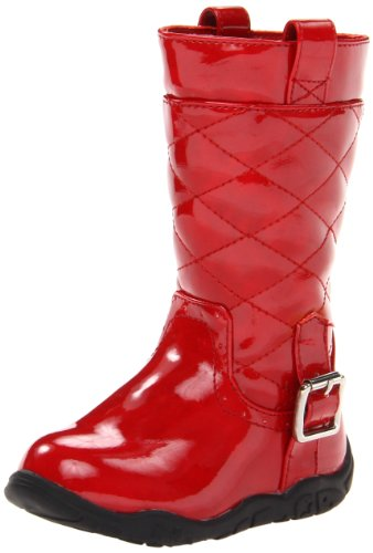 Kenneth Cole Reaction Call It A Way 2 Boot (Toddler/Little Kid),Red,10.5 M Us Little Kid front-887626
